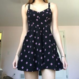 Mini Dress With Patterns
